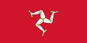 picture of flag of Island of Man
