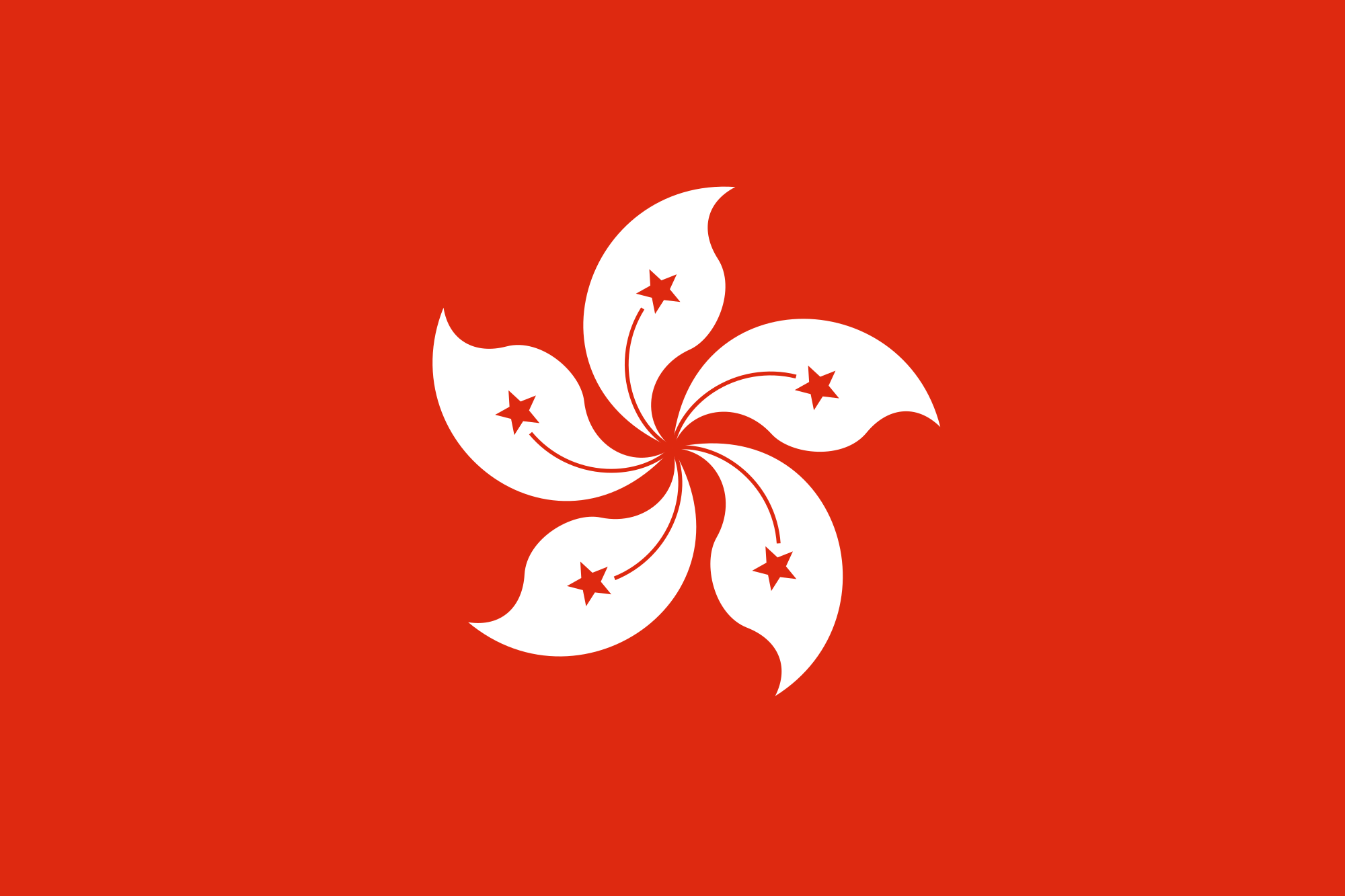 Picture of Hong Kong flag