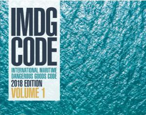Picture of IMDG CODE International maritime dangerous goods code 2018 supplement.