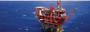 Picture of offshore platform