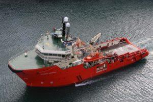 Picture of rescue ship